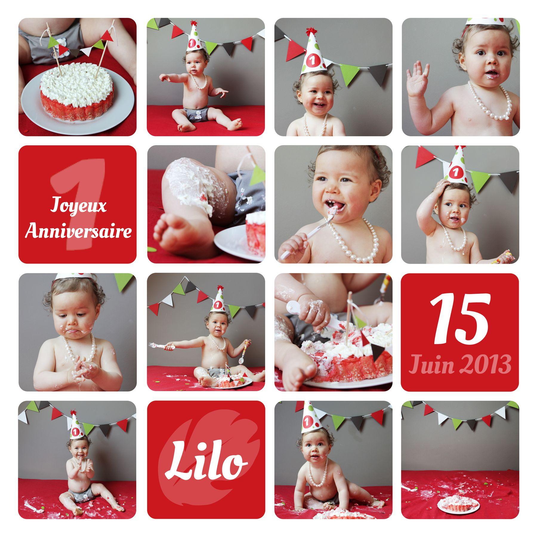 anniversaire bebe 12 mois